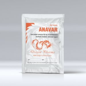 Anavar 50mg Dragon Pharma