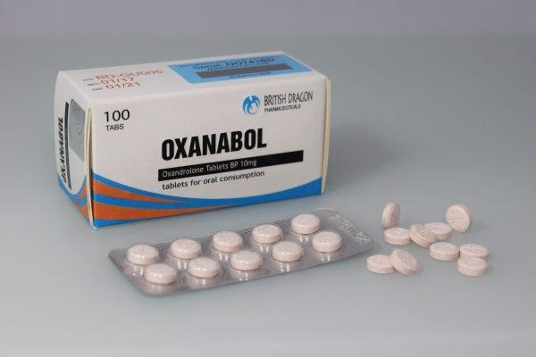 Oxanabol Tablets British Dragon
