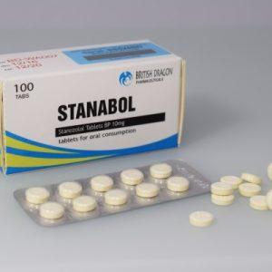 Stanabol Tablets British Dragon