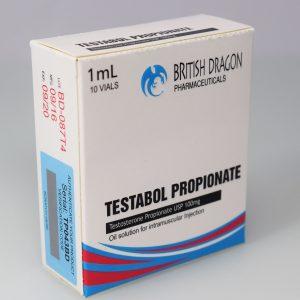 Testabol Propionate Inject British Dragon