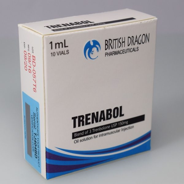 Trenabol Inject British Dragon