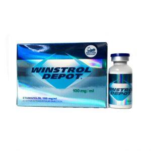WINSTROL DEPOT 100 British Dispensary