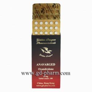 Anavarged Golden Dragon Pharmaceuticals