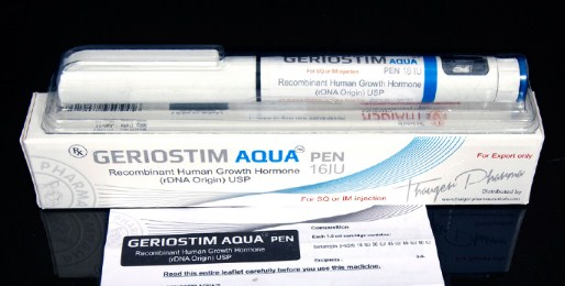 GERIOSTIM AQUA PEN 16 IU Thaiger Pharma Group