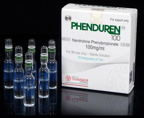 PHENDUREN 100 Thaiger Pharma Group