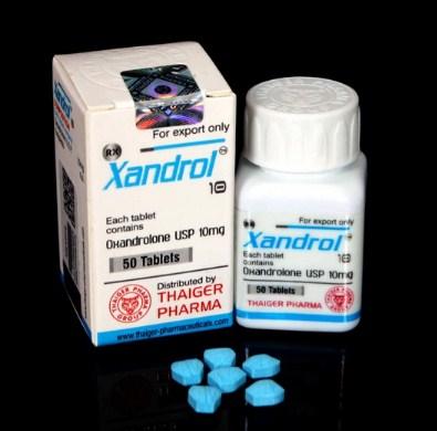 XANDROL 10 Thaiger Pharma Group